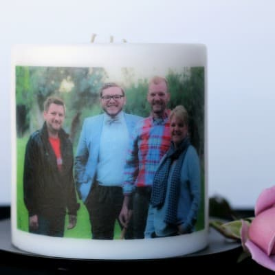 Easy Photo Candle
