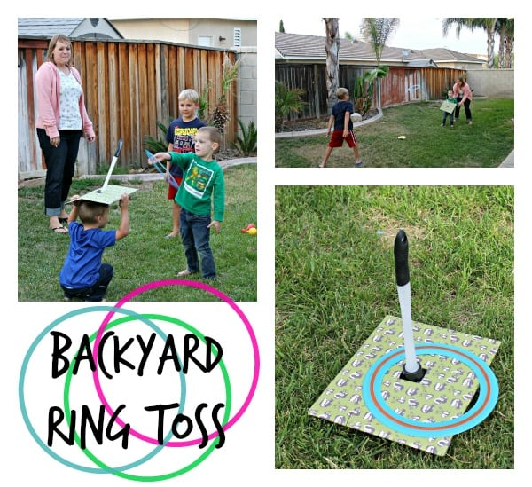 ring toss collage