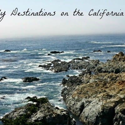family destinations on the California coast