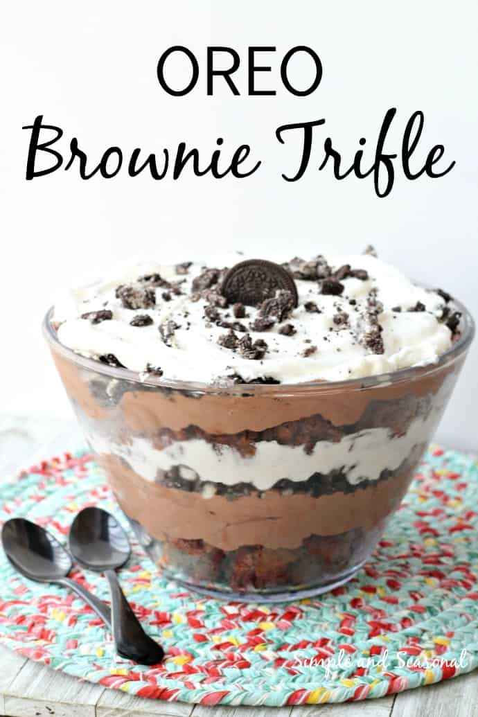 Be the hero of your next family gathering with this delicious layered dessert! Fudgy brownies, creamy pudding and Oreo cookies layer beautifully and they taste even better!