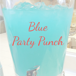Pink Punch & Blue Punch: easy baby shower recipes