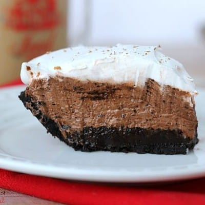 Summer Sweets: Iced Coffee and No Bake Mocha Pie