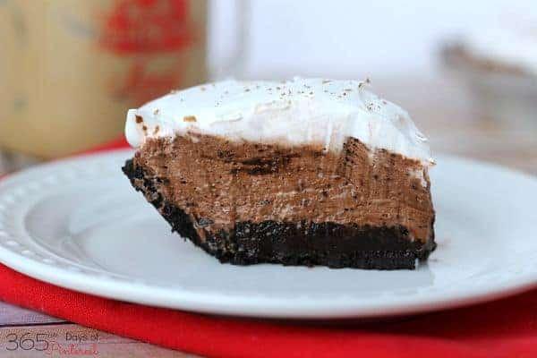 chocolate mocha slice