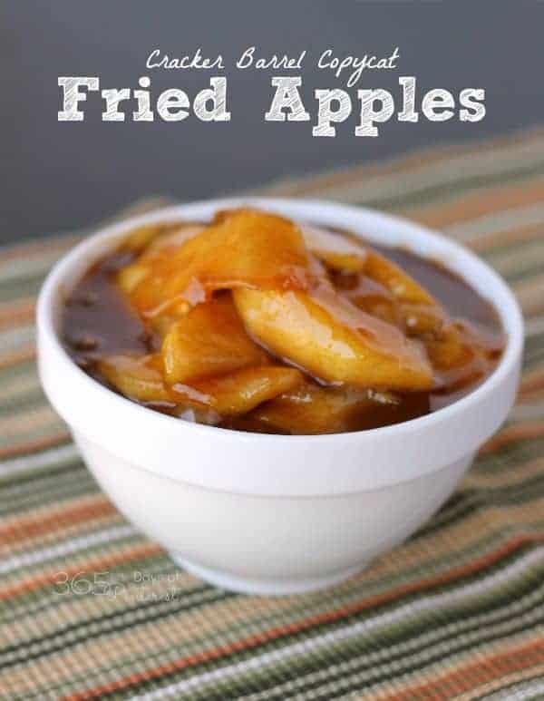 cracker barrel fried apples
