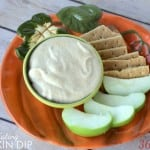 clean eating pumpkin pie dip