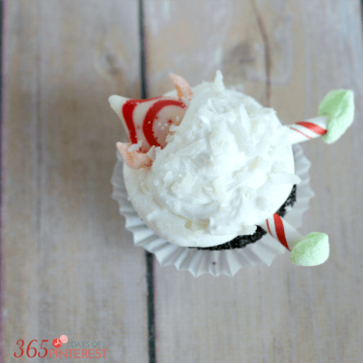 Easy Christmas Cupcake Recipe Elf Cupcake