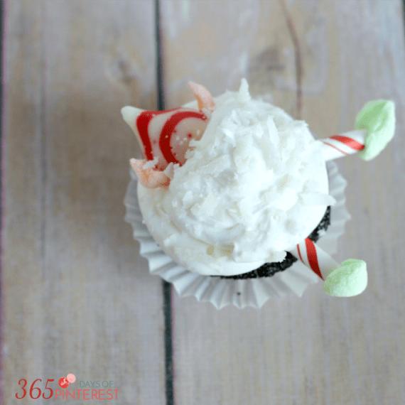 Christmas Elf Cupcake