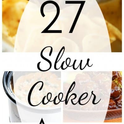 27 Slow Cooker Appetizers