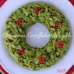 Christmas Cornflakes Wreath Simple And Seasonal
