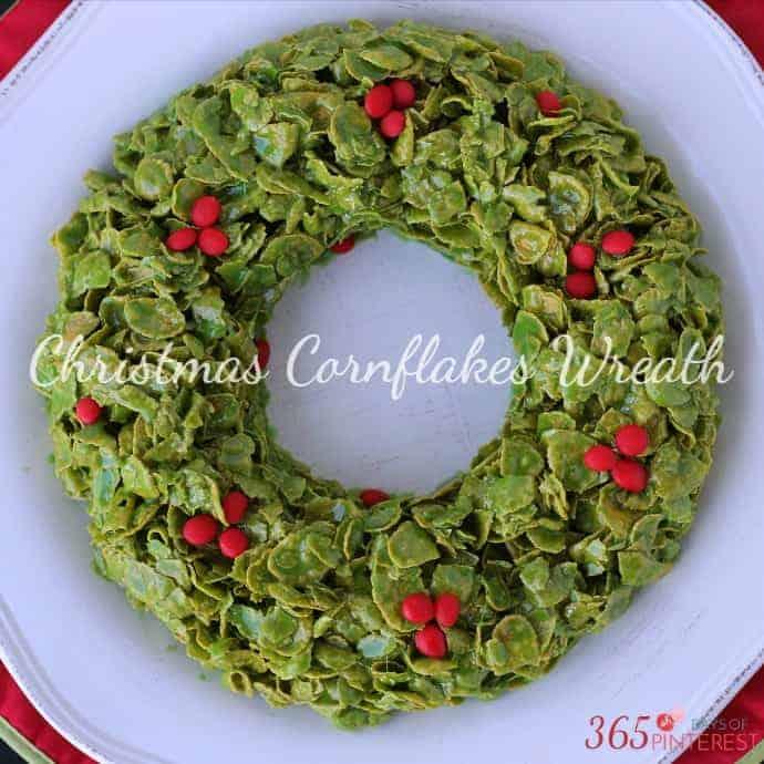 Christmas Cornflakes Wreath