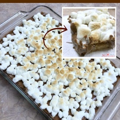 Easy S'mores Cookie Bars
