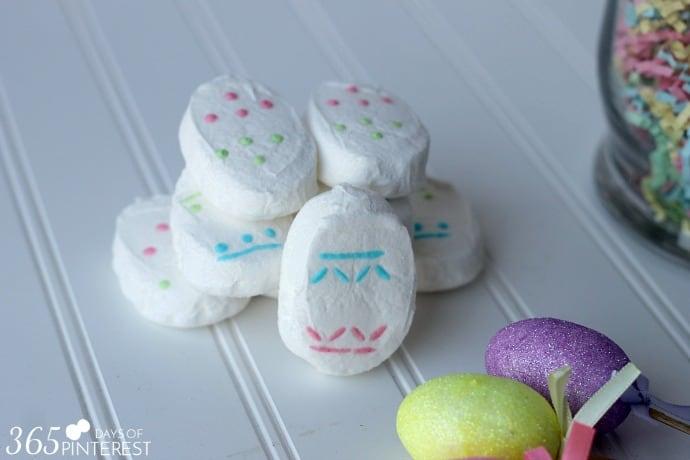 marshmallow eggs peeps