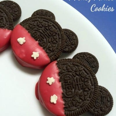 Quick and easy Mickey Mouse cookies are perfect for any Disney themed birthday party or Mickey Mouse lover! Everyone loves OREO cookies!
