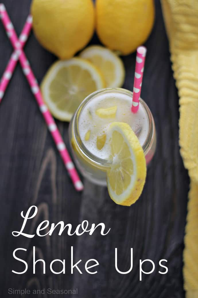 Make this refreshing state fair treat right at home! Lemon Shake Ups are the perfect drink for spring and summer.
