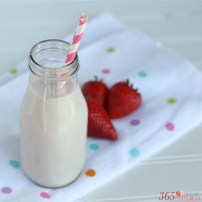 Take a break from adulthood and enjoy a tall glass of homemade strawberry milk. It's all the yummy nostalgic flavors only fresher, creamier and better!