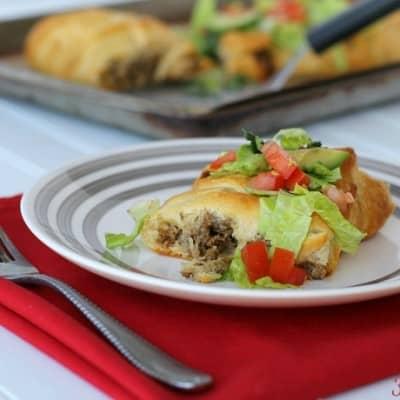 Spice up taco night in your house with an Easy Taco Braid! Stuffed full of delicious taco meat and creamy, melted Sargento® cheese, it's a great twist on a classic.
