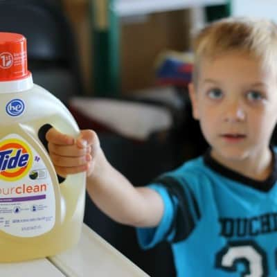 tide purclean kids laundry
