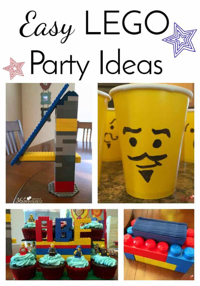 Throwing a birthday party for your LEGO lover is a piece of cake with these easy lego party ideas! The best part? They are inexpensive to make!