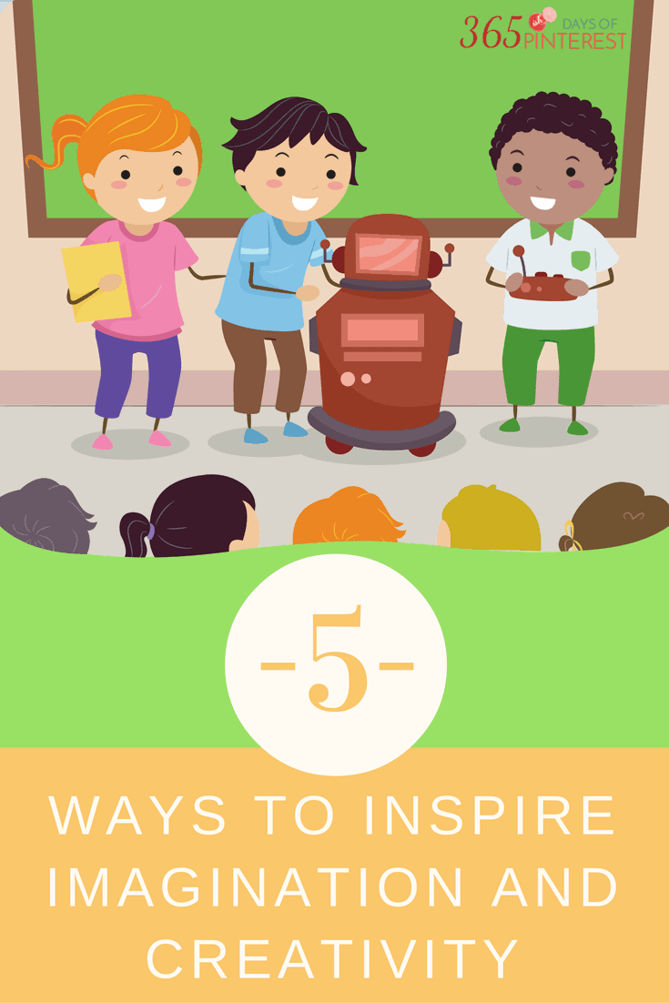 5 ways to inspire imagination