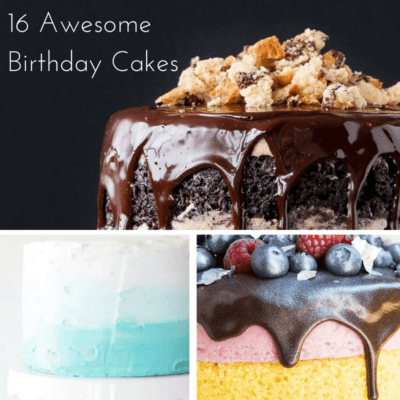 16 Birthday Cake Ideas