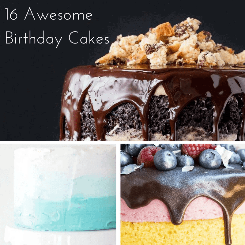 Prime 16 Birthday Cake Ideas Simple And Seasonal Funny Birthday Cards Online Sheoxdamsfinfo