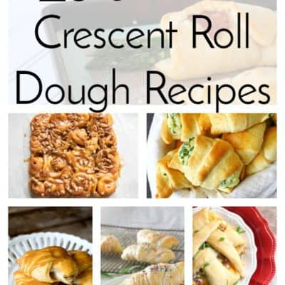 23 Recipes Made with Crescent Roll Dough