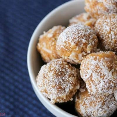 Orange Juice Balls: no bake cookie recipe