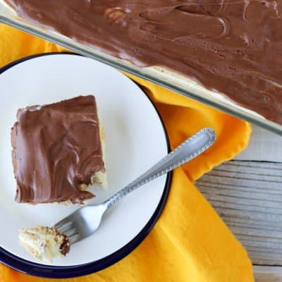 S'mores Eclair Cake