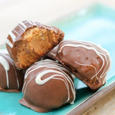 Easy Chocolate Peanut Butter Truffles