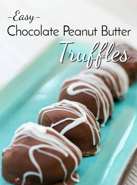 Stuffed with peanut butter cup candies and dipped in creamy milk chocolate, these easy Chocolate Peanut Butter Truffles are sure to become a family favorite!