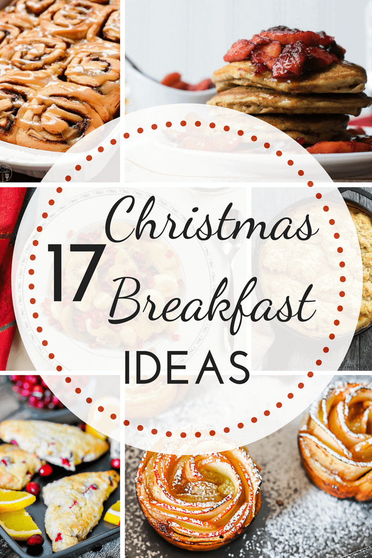 Make Christmas breakfast special with one of these delicious breakfast recipes. Whether you like pancakes, cinnamon rolls, or biscuits and gravy, there's something here for everyone! #Christmas #Christmasbreakfast #breakfast via @nmburk