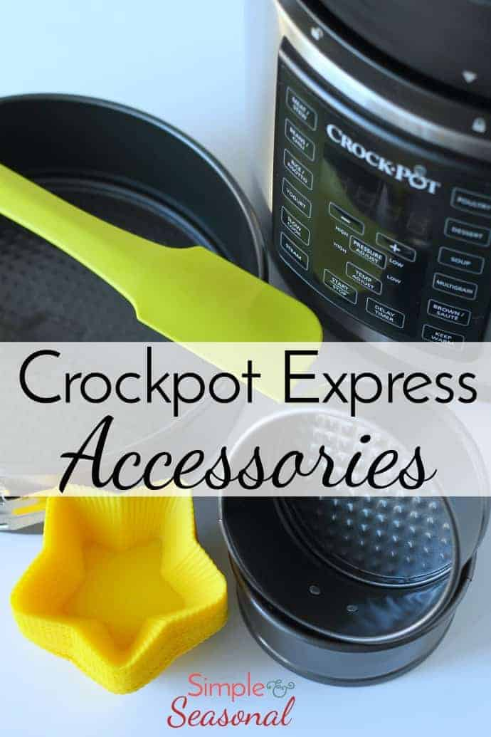 Do you own the Crockpot Express Multi-Cooker? It's a pressure cooker, slow cooker, rice cooker, etc. and is very similar to the Instant Pot. There are a few differences, however, that make it necessary to create your own wish list of Crockpot Express Accessories! #CrockpotExpress #InstantPot #PressureCooker via @nmburk
