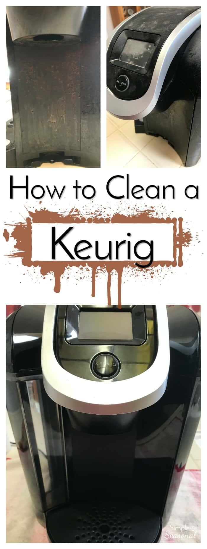 If you own a Keurig coffee brewer, you need to know how to deep clean a Keurig! It will add to your coffee maker's life and even help your morning cup taste a little better!#Keurig #CleaningTip #Coffee #Cleaner via @nmburk