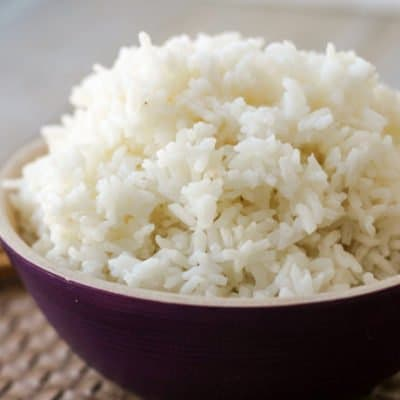 How to Make Fluffy White Rice in the Crockpot Express