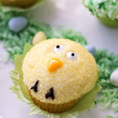 Easy Easter Cupcakes: how to make small batch cupcakes