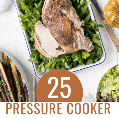 25 Pressure Cooker Thanksgiving Recipes