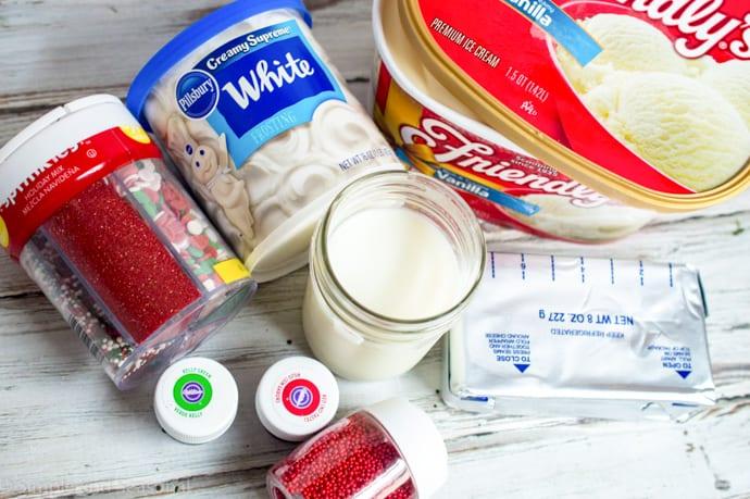 ingredients for elf shakes