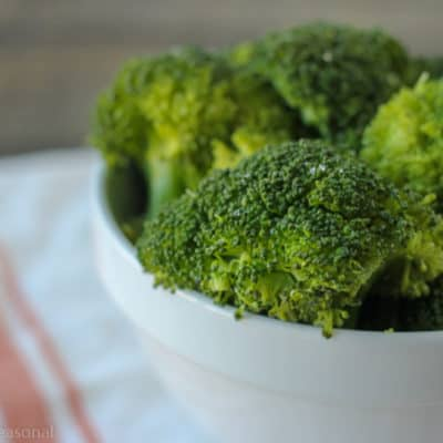 Enjoy perfectly cooked veggies with this recipe for Crockpot Express Broccoli and Cauliflower!