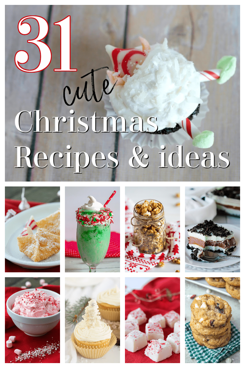 Over 30 Christmas recipes and ideas for making the most of the holiday season via @nmburk