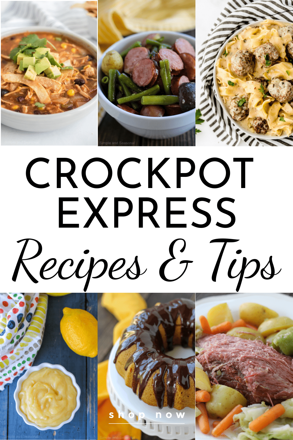 Simple Crockpot Express Recipes that are written specifically for the Crockpot Express! Find family-friendly recipes that are packed with flavor without being long and complicated. Plus, read some tips on using the machine and trouble shooting. You're going to love your new Crockpot Express! #CrockpotExpress #PressureCooker #EasyRecipes via @nmburk